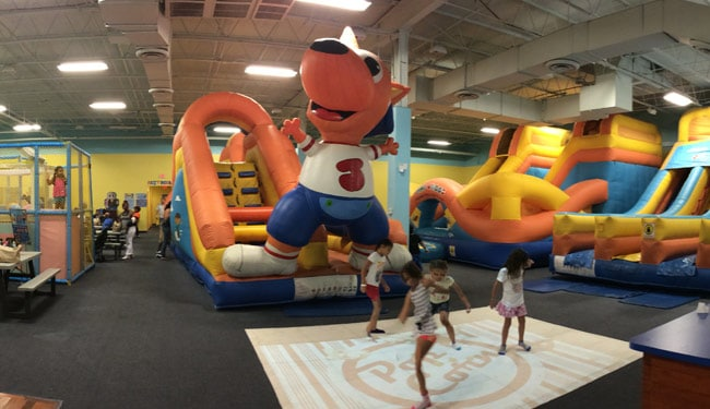 Kids Love BEAM At Jump A Roos