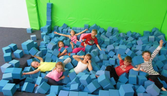 Cool Springz Trampoline Park Uses BEAM Floor Games For Non Sedentary  Entertainment