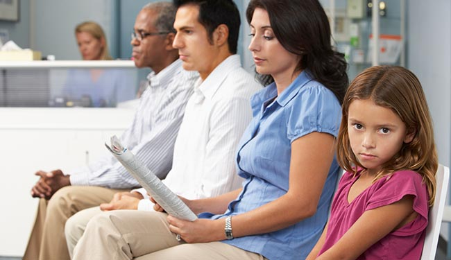 Improve your patient experience by waiting room