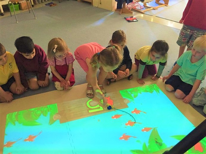 Day Care Center Comes To Life With Beam Interactive Projector