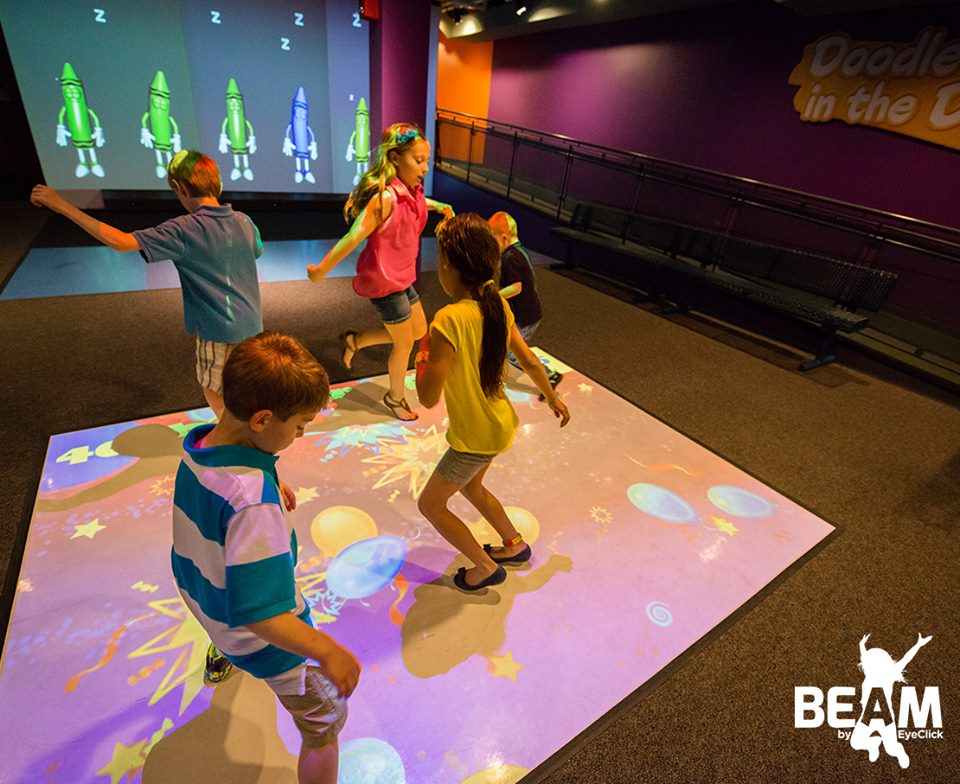 Beam Projecting Limitless Entertainment On Any Surface