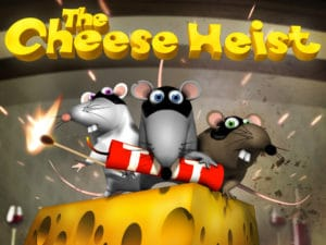 entertainment image of three mice video game the cheese heist