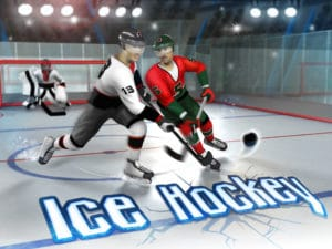 entertainment image of ice hockey video game