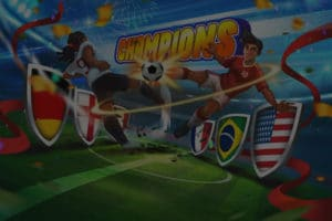 entertainment image of soccer video game